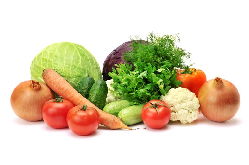 Verduras sin lavar, es un alimento que debes evitar si estás embarazada